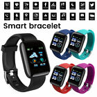 Kyпить Smart Watch Bracelet Heart Rate Blood Fitness Tracker Waterproof For Android IOS на еВаy.соm