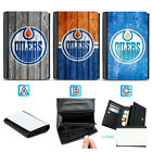 Edmonton Oilers Leather Wallet Purse Coin Credit Card ID Holde $13.99 USD on eBay