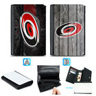Carolina Hurricanes Leather Wallet Purse Coin Credit Card ID Holde $13.99 USD on eBay