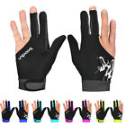 1Pc Unique Left/Right Hand Unisex 3 Finger Elastic Billiard Snooker Pool Glove T $3.93 USD on eBay