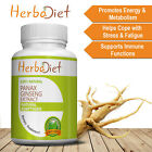 Korean Red Panax Ginseng Root Extract 80% Ginsenosides Capsules Boosts Energy $10.49 USD on eBay