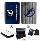 Tampa Bay Lightning Leather Wallet Purse Coin Credit Card ID Holde $14.99 USD on eBay