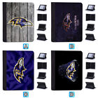 Baltimore Ravens Leather Case For iPad Mini 1 2 3 4 Pro 9.7 10.5 Air $19.99 USD on eBay