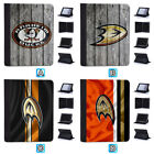 Anaheim Ducks Leather Case For iPad Mini 1 2 3 4 Pro 9.7 10.5 Air $19.99 USD on eBay