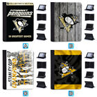 Pittsburgh Penguins Leather Case For iPad Mini 1 2 3 4 Pro 9.7 10.5 Air $19.99 USD on eBay