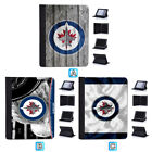 Winnipeg Jets Leather Case For iPad Mini 1 2 3 4 Pro 9.7 10.5 Air $19.99 USD on eBay