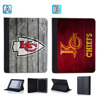 Kansas City Chiefs Leather Case For iPad Mini 1 2 3 4 Pro 9.7 10.5 Air $19.99 USD on eBay