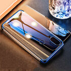 For Xiaomi Redmi 7 6A S2 Note 7 6 5 Pro Electroplate Silicone Clear Case Cover