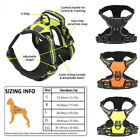 No-Pull Dog Pet Harness 3M Reflective Outdoor Adventure Pet Vest Padded Handle