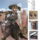 Overwatch/Ashe Synthetic Sliver White 35cm/200gShort Anime Cos Wig And Parts