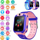 Waterproof Kids Smart Watch Anti-lost Safe LBS Tracker SOS Call For Android iOS