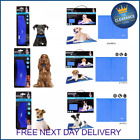 Pet Dog Cat Cooling Gel Mat Bed Summer Heat Relief Non Toxic Cushion Pad Collars