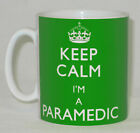 Keep Calm I'm A Paramedic Mug Can Personalise Great  Ambulance Medic Driver Gift