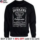 Los Angeles Dodgers Sweater Sweatshirt Shirt Whiskey Graphic LA LAD JD Whisky on Ebay