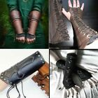 Steampunk Gothic Style Arm Bracers Retro Medieval Cosplay Bracers Gloves Mittens