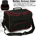 Pro Hair Stylist Salon Barber Hairdressing Scissors Combs Tool Bag / Makeup
