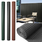 Plastic PVC Privacy Screen Fence Garden Balcony Side Wall Panels Clip Covers DIY