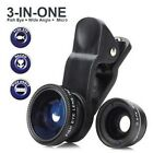 Lens 3 in 1 Macro + Great Angle + Effect Eye Fish for IPHONE Smarthphone