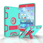 For iPad Mini 123 Mini 4 Shockproof Silicone Kids Safe Armor Stand Case Cover
