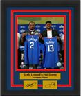 Kawhi Leonard & Paul George LA Clippers Basketball Jersey Photo Laser Autograph on eBay
