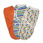 Summer Infant SwaddleMe Swaddle 3 Pack Size Small (Damaged Packaging)