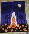 Cloth Panels, Material, Fabric, Quilting, Halloween Holiday Patterns