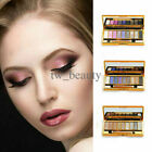 9 Colors Glitter Eyeshadow Eye Shadow Palette & Makeup Cosmetic Brush Set #1~ #6