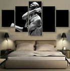 5 Panels Michael Jordan Stats Basketball Painting HD Canvas wall Art Home Decor $116.09 USD on eBay