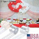 Kyпить Balloon Arch Frame Kit Column Base Tape Wedding Birthday Party Decorating Strip на еВаy.соm