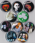 """Halloween 1"""" Pinback Buttons or Magnets set of 10"""