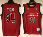 Nas Illmatic Album CD Cover Authentic Basketball Hip Hop Rap Jersey