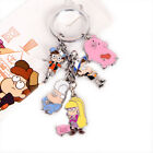 Gravity falls Mabel Waddle keychain zinc alloy keyrings cosplay accessories Gift