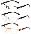 Half Rim Men Women OG Eyewear Clear Lens Frame Eye Glasses Designer Fashion Nerd