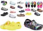 10+ Colors  CROCS Classic WINTER  Fuzzy Plush LINED vegan Clogs Slippers Shoes