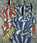 Fernand Leger The Stairway Giclee Canvas Print Paintings Poster Reproduction