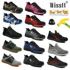 Women's Work Boots Safety Shoes Steel Toe Sneakers Lightweight Trainers Hike US