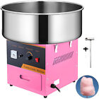 Electric Commercial Cotton Candy Machine Fairy Floss Maker With Cart and Dome