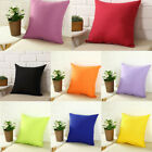 "Square Sofa Waist Pillow Cover Case Home Decor Throw Cushion Cover 8 Color 16"" image"