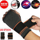 Wrist Support Hand Brace Compression Glove Carpal Tunnel Wrap Sports Arthritis $10.99 USD on eBay