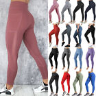 Women Skip about Pants High Waist Yoga Fitness Leggings Running Workout Gym Trousers