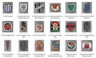 AUGUST 2019 #1 Metal Pin Football Clubs Argentina Chile Colombia China Mexico