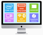 Apple iMac 21.5, Quad Core i5/i7, 240GB SSD, up to 32GB Ram
