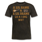 A lil Hank and A lil Drank go a long way T-Shirt, williams country