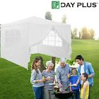 Outdoor Gazebo Marguee Canopy Tent 3Mx3M White Blue Green Barbecue Party Wedding