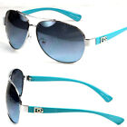New Mens Women Pilot Aviator Sunglasses Designer Fashion Shades Retro WB Eyewear