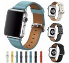 For Apple Watch Band Series Se 6 5 4 3 2 Leather Buckle Iwatch Strap Band