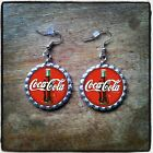 Coca-Cola Bottle Cap Earrings, Necklace & Key Ring $8.99  on eBay