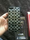 NEW WITH TAG COACH iPhone 5 Case/Cover Fits 5s