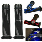 "MOTORCYCLE 7/8"" HAND GRIPS HANDLE BAR GEL FOR YAMAHA R1 R6 SUZUKI GSXR600 750 image"