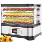 Homdox 5678 Trays Electric Food Dehydrator Machine Herbs Fruit Meat Preserver